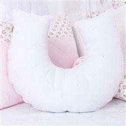 Almofada para Amamentação Primavera Baby Rosa