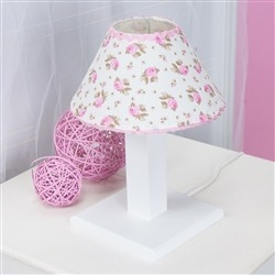 Abajur Primavera Baby Rosa