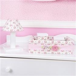 Kit Acessórios Primavera Baby Rosa