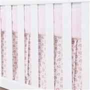 Saia para Berço Primavera Baby Rosa