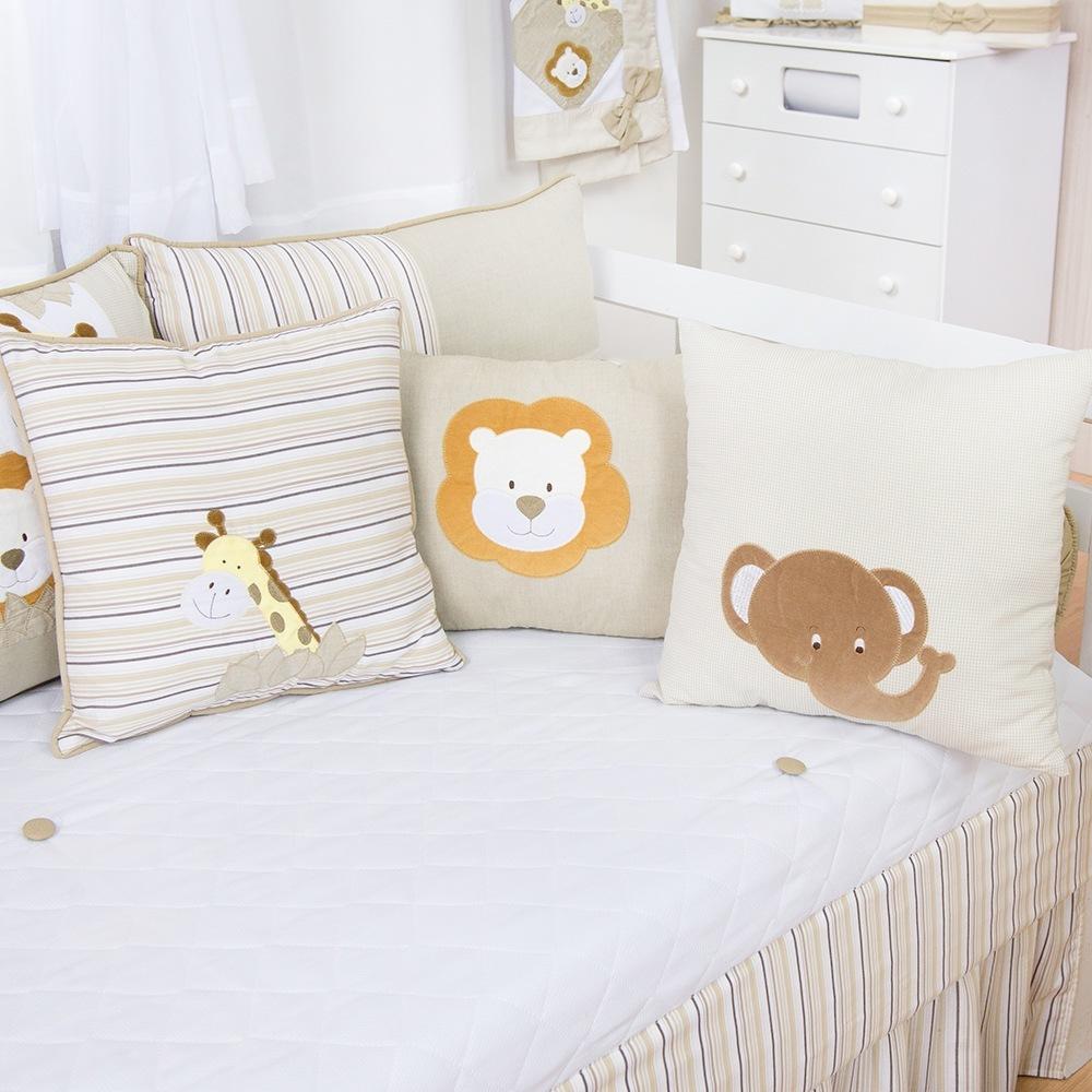 Almofadas Decorativas Selva Baby Bege