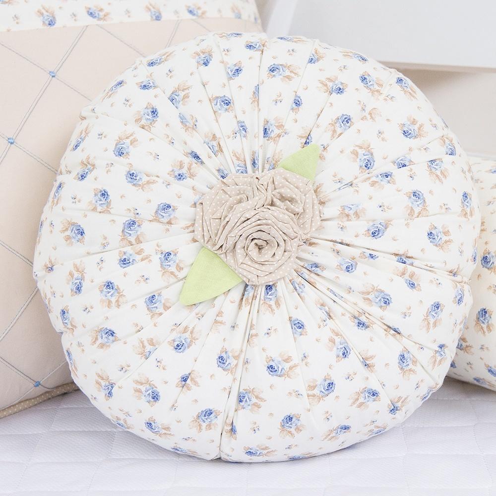 Almofada Decorativa Primavera Baby Azul