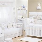 Quarto para Bebê Primavera Baby Azul