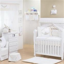 Quarto para Bebê Sem Cama Babá Primavera Baby Azul