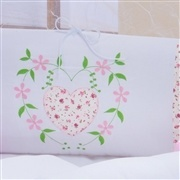 Kit Berço Florata Rosa