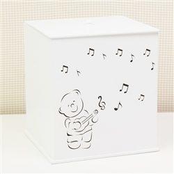 Lixeira Urso Musical