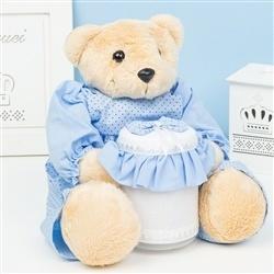 Urso Porta Cotonete Dudu