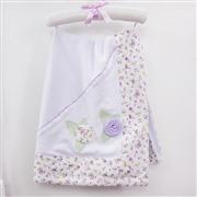 Manta Primavera Baby Lilás