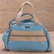Conjunto de Bolsas Maternidade Requinte Azul