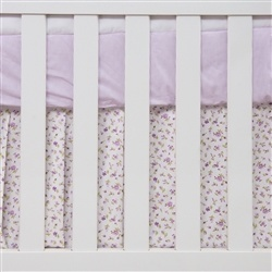 Saia para Berço Primavera Baby Lilás