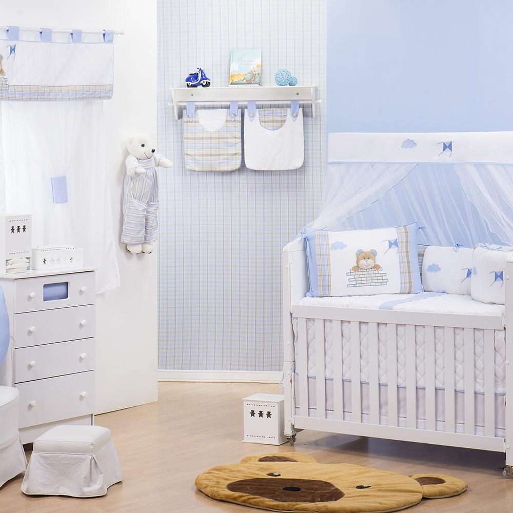 Quarto para Bebê sem Cama Babá Cara de Urso