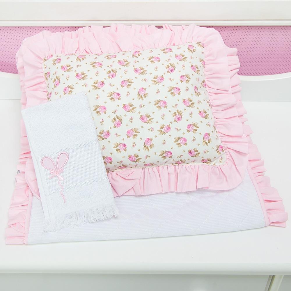 Capa de Carrinho Primavera Baby Rosa