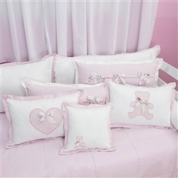Almofadas Decorativas Sweet Bear Rosa