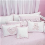 Almofadas Decorativas Sweet Bear Rosa