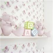 Quarto para Bebê sem Cama Babá Sweet Bear Rosa