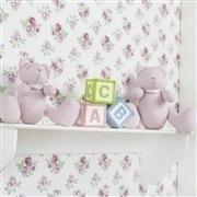 Quarto para Bebê Sweet Bear Rosa