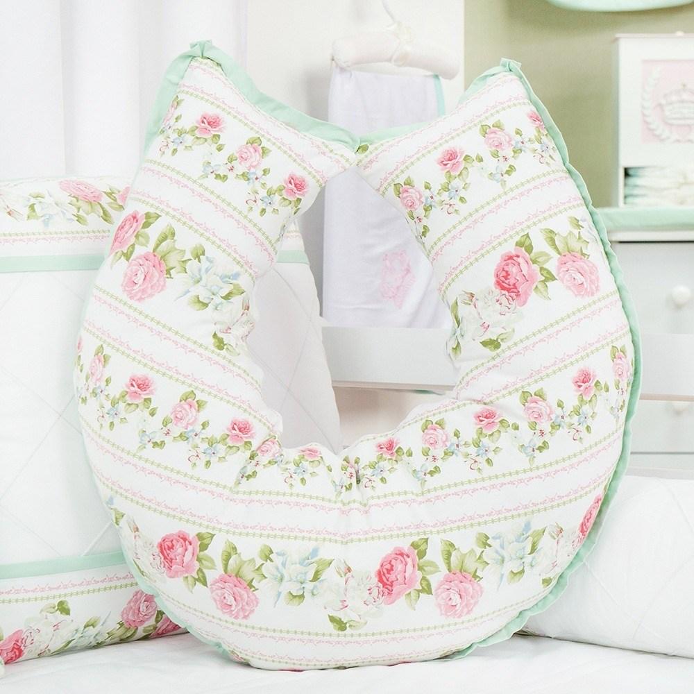 Almofada para Amamentação Bouquet Rosa