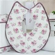 Almofada para Amamentação Bouquet Uva