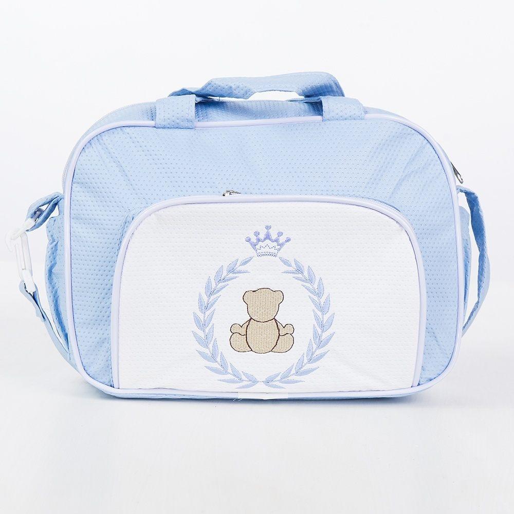 Frasqueira Maternidade Teddy Azul
