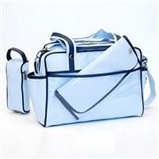Bolsa Maternidade Candy Azul com Marinho