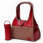 Bolsa Trocador Maternidade Classic Vermelha