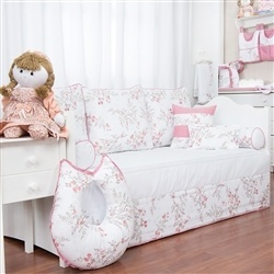 Kit Cama Babá Cherry