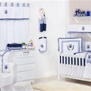 Quarto para Bebê sem Cama Babá Brasão