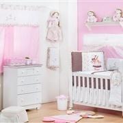 Quarto para Bebê sem Cama Babá Lia