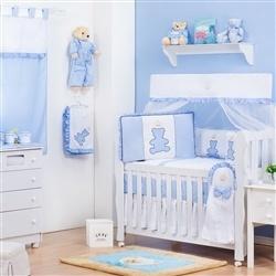 Quarto para Bebê sem Cama Babá Príncipe Urso