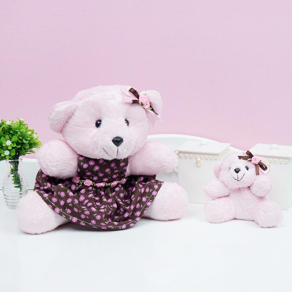 Ursas de Pelúcia Primavera