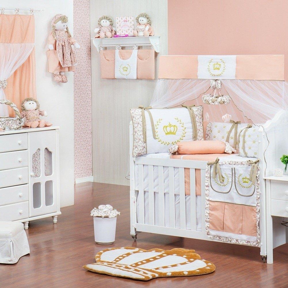 Quarto para Bebê sem Cama Babá Princesa