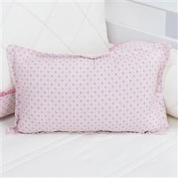 Almofada Decorativa Estampada Flor de Lys Rosê