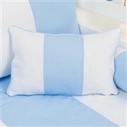 Almofada Retangular Provençal Azul