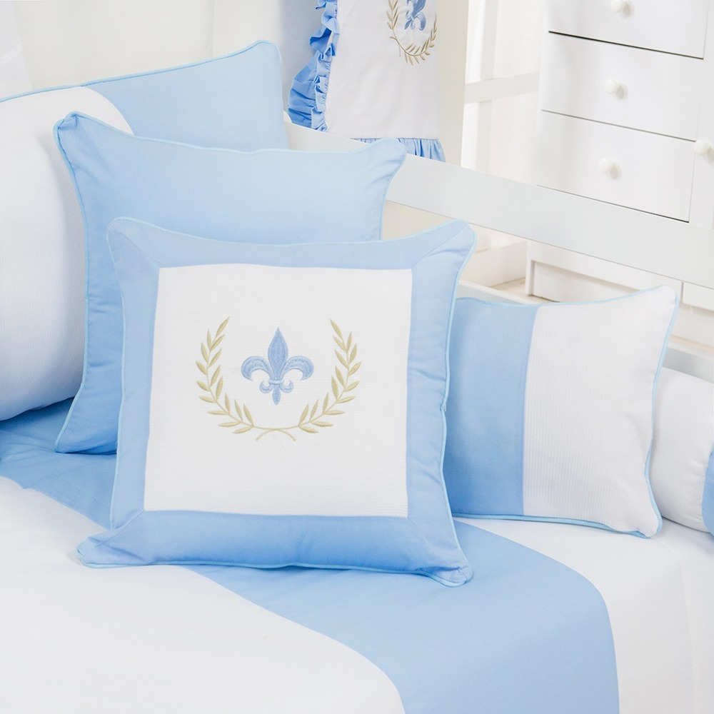 Almofadas Decorativas Provençal Azul