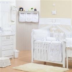 Quarto para Bebê sem Cama Babá Provençal Branco