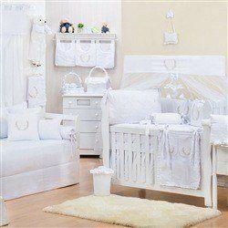 Quarto para Bebê Provençal Branco