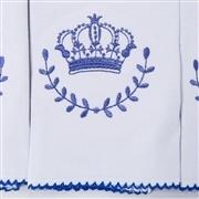 Jogo de Fraldas Boca Malha Coroa Marinho