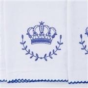 Kit Fraldas e Toalha de Banho Coroa Marinho