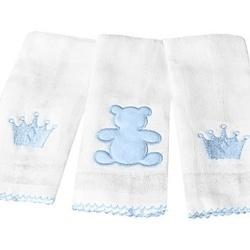 Jogo de Fraldas Realeza Azul
