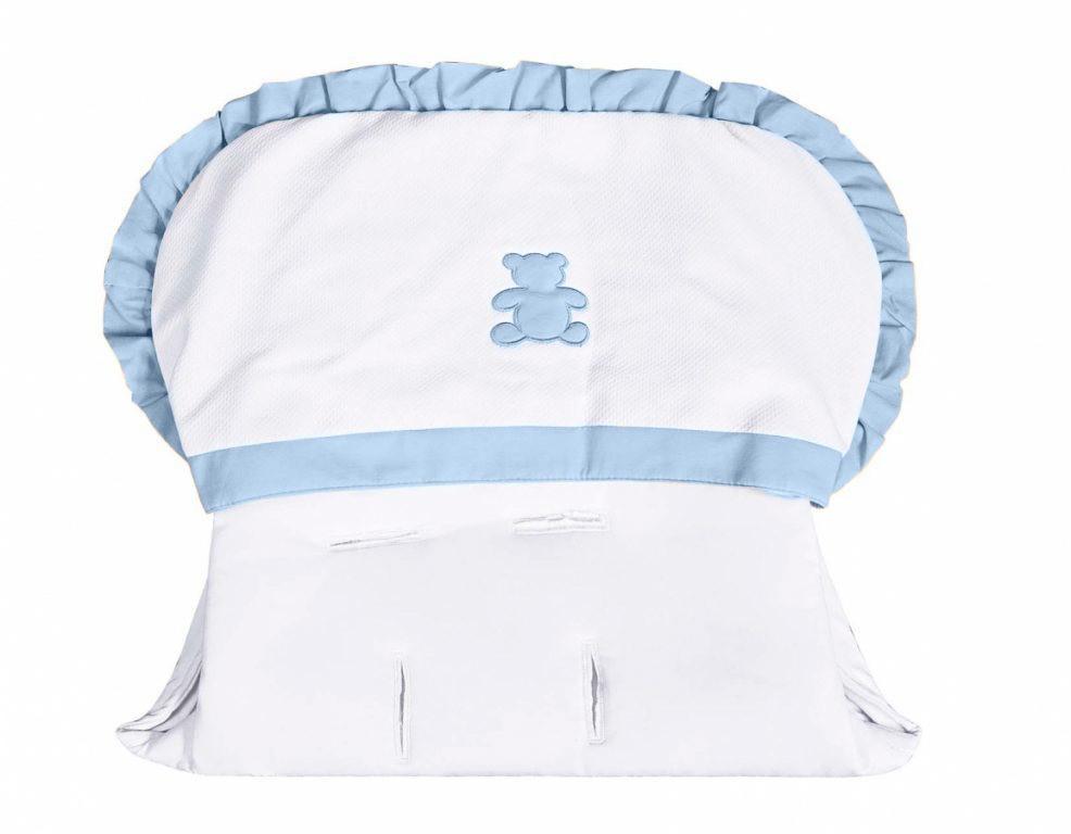 Capa de Carrinho Realeza Azul