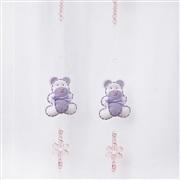 Pêndulos Cortina Teddy Lilás