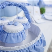 Cesta Teddy Azul