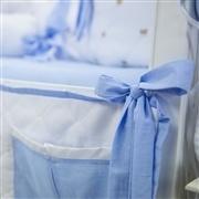 Porta Treco Teddy Azul