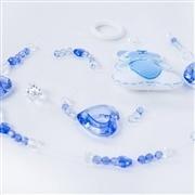 Pêndulos Cortina Teddy Azul