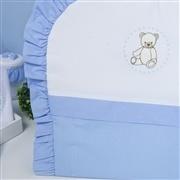 Capa de Carrinho Teddy Azul