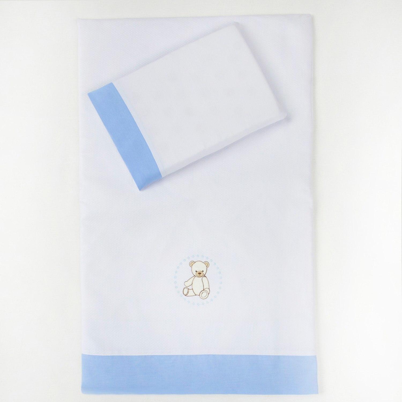 Colchonete para Carrinho Teddy Azul