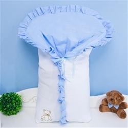 Porta Bebê Teddy Azul