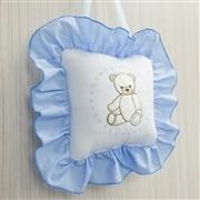 Enfeite de Parede Teddy Azul