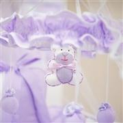 Móbile Teddy Lilás