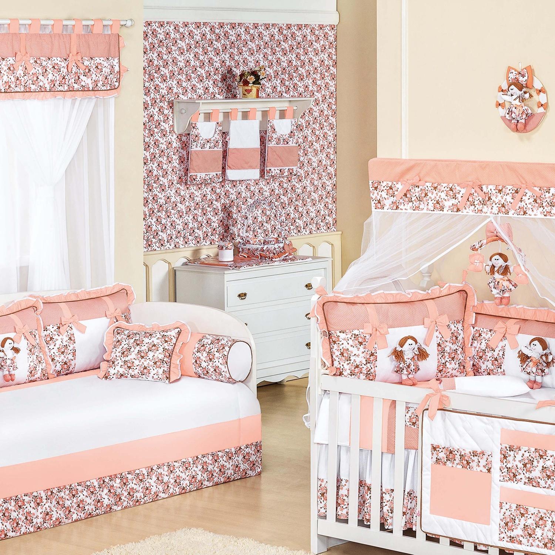 Quarto para Bebê Boneca Floral